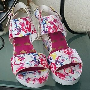 JUICY COUTURE Floral Shoes